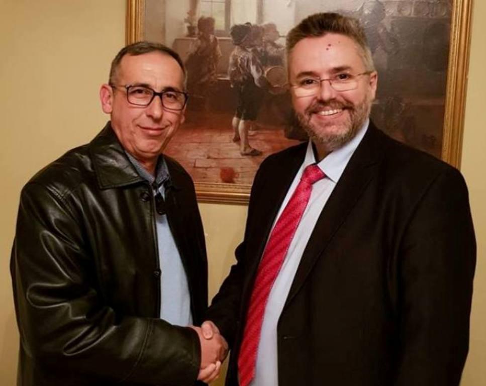 Ο Γεώργιος Σπυριδωνίδης υποψήφιος Δημοτικός Σύμβουλος με το συνδυασμό «Δικαίωμα για Νέα Βέροια» του υποψηφίου Δημάρχου Ιωάννη Παπαγιάννη.