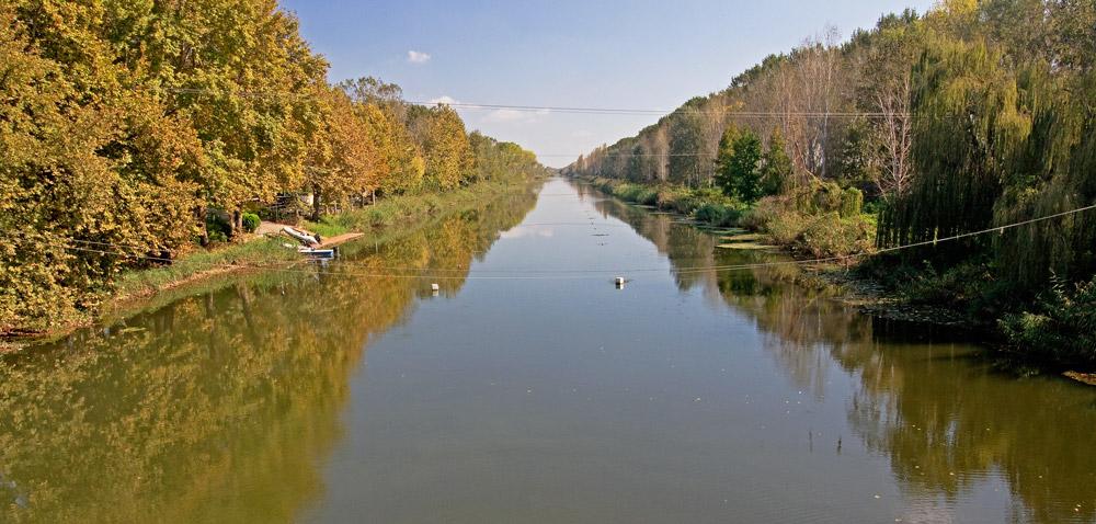 Η γέφυρα του ποταμού Λουδία!