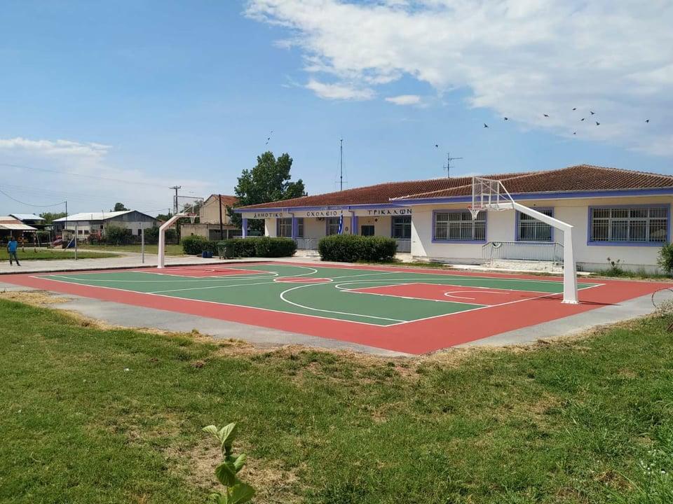 Έφτιαξε γήπεδο στα Τρίκαλα Ημαθίας!