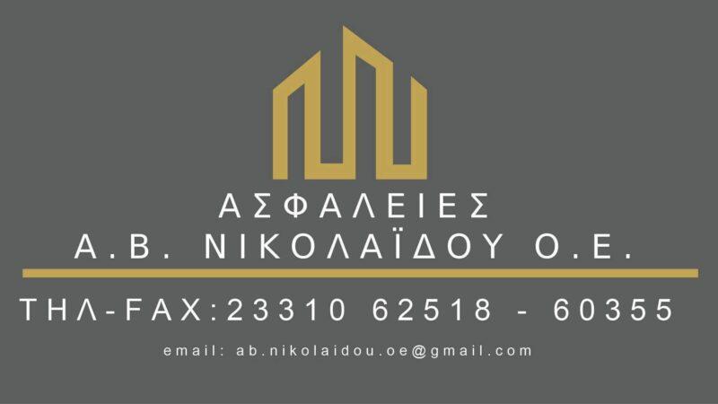 Ασφαλιστικό Πρακτορείο ΝΙΚΟΛΑΙΔΟΥ ΟΕ